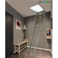 loft ladders in iron elements