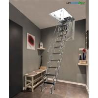 motorized aluminum loft ladder